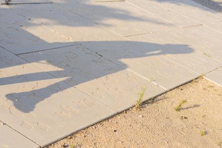 shadow: Shadow. Stock Photo