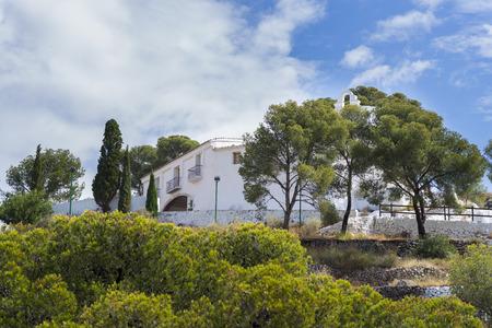 magdalena: Santa Magdalena Hermitage Castellon, Spain. Stock Photo