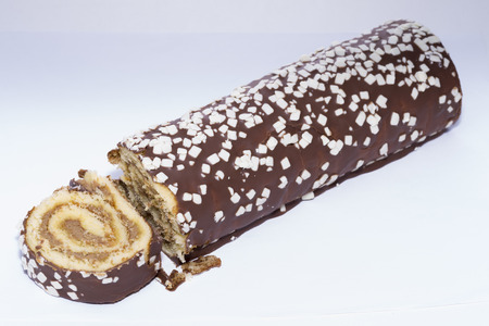 chocolaty: Swiss roll.