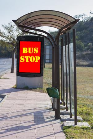 bus stop: Bus stop.