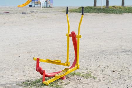 municipal utilities: Outdoor sports. Stock Photo