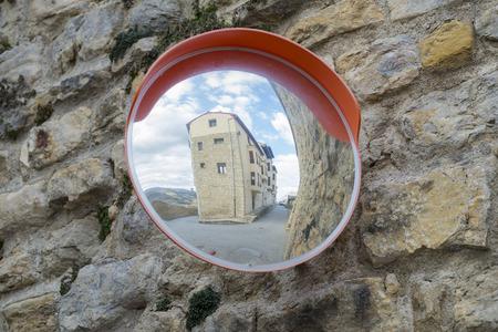 concave: Mirror.