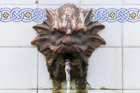 source of iron: Fountain.