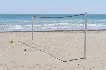 volleyball net: Volleyball net.