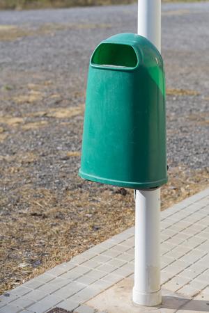 recolector de basura: Papelera.