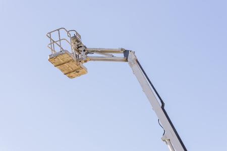 elevator operator: Work crane.