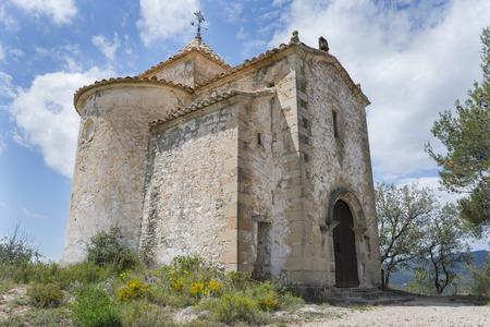 santa barbara: Hermitage of Santa Barbara Teruel, Spain.