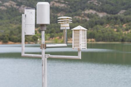 pluviometro: Estación meteorológica.