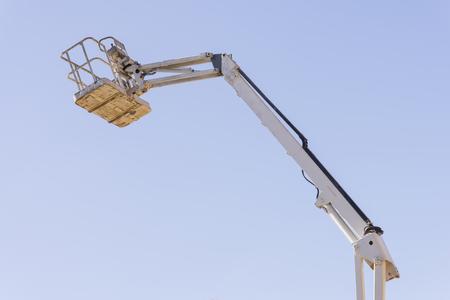 elevator operator: Crane work.