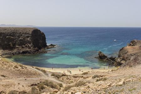 lanzarote: Papagayo beach Lanzarote, Spain