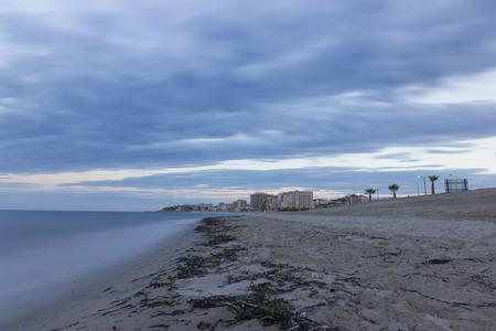 Morro de Gos beach Oropesa, Castellon - Spain.