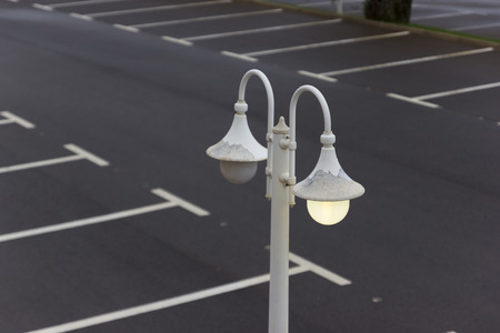 cast off: Lamppost. Stock Photo