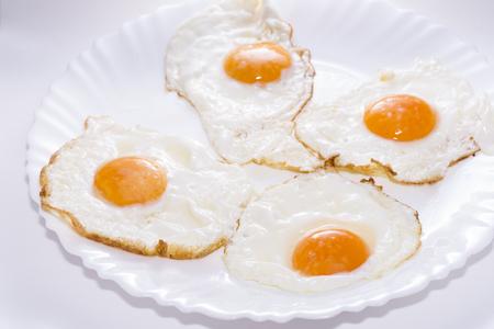 huevos estrellados: Huevos fritos.