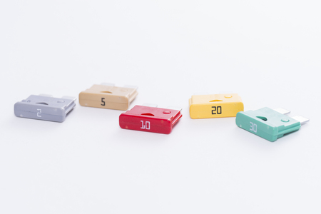 conductor electricity: colorful Fuses.