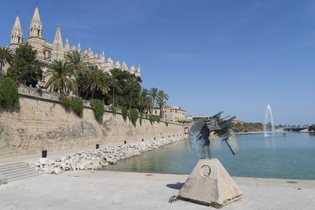 mallorca: Cathedral of Mallorca Spain.