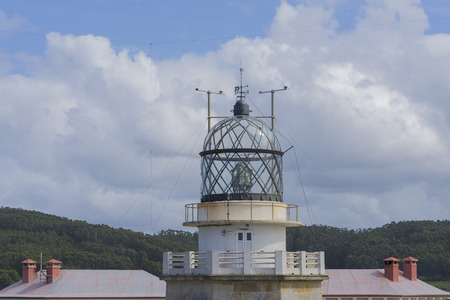 lighthouse keeper: Estaca de Bares lighthouse La Coruna, Spain.
