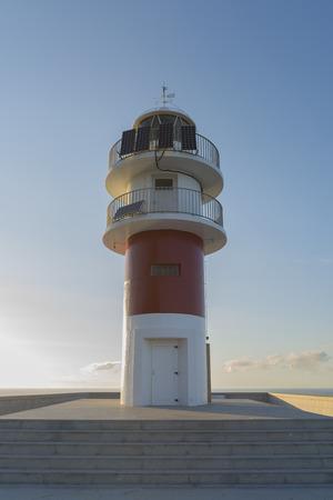 lighthouse keeper: Ortegal lighthouse La Coruna, Spain.