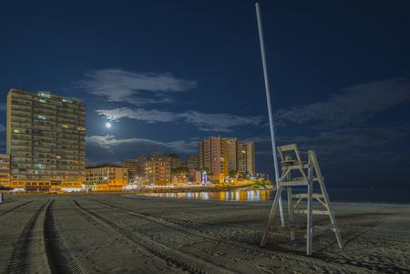 moon chair: Oropesa beach Castellon, Spain.