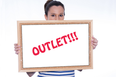 modifiable: Outlet. Stock Photo