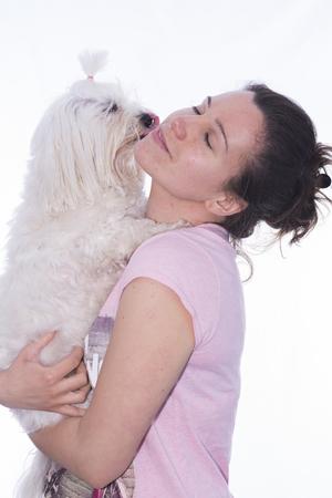fidelidad: Chica y mascota.