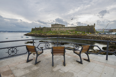 anton: San Anton Castle La Coruna, Spain.