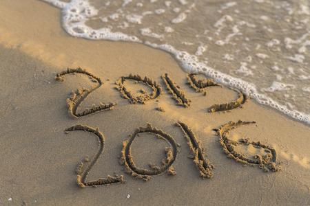 cronologia: Año Nuevo. Foto de archivo