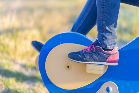 pulleys: Outdoor fitness.