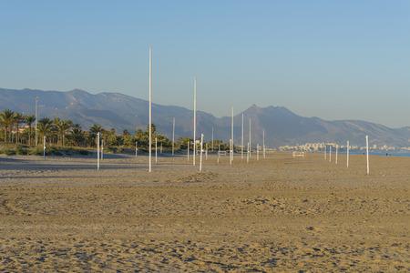 pinar: El Pinar beach Castellon, Spain.