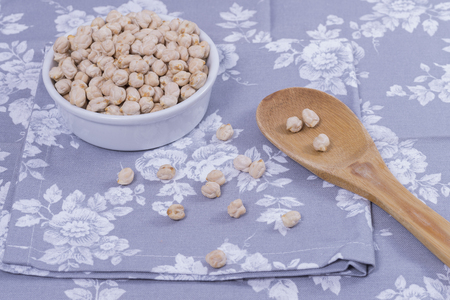 chickpeas: Garbanzos.