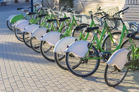 municipal utilities: Public bicycles.