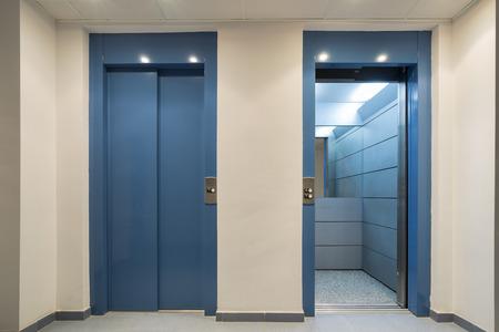 Elevators. 版權商用圖片