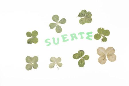 augury: Luck. Stock Photo