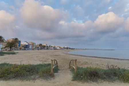 beach access: Torreblanca beach Castellon.
