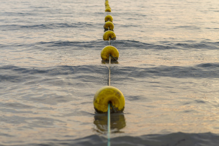 buoys: Buoys line.