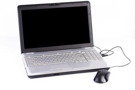 d data: Laptop. Stock Photo