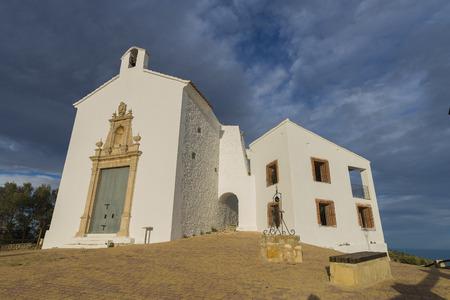 hermitage: Hermitage of Santa Lucia Alcocebre, Castellon-Spain.