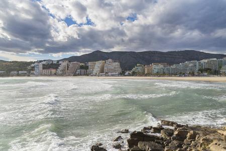 La Concha beach (Oropesa del Mar, Castellon - Spain).