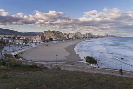 Morro de Gos beach (Oropesa del Mar, Castellon-Spain).