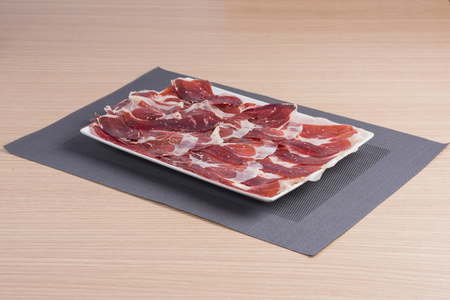 iberian: Iberian ham. Stock Photo