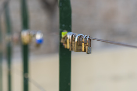 padlocks: Padlocks. Stock Photo