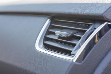 slits: Ventilation of a car.