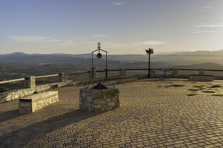 hermitage: Hermitage of Santa Lucia (Alcocebre, Castellon - Spain).