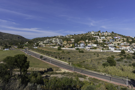 housing crisis: Torre Bellver urbanization (Oropesa del Mar, Castellon - Spain).