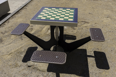 free thinking: Chess table.