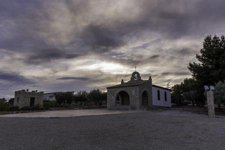 hermitage: Hermitage of San Cristobal (Val Dalba, Castellon - Spain).