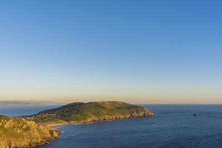 Finisterre Cape (La Coruna, Spain).