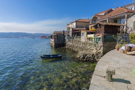 Coast of Combarro (Pontevedra, Spain).