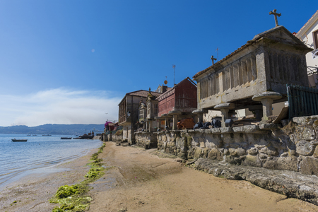 Combarro (Pontevedra, 스페인). 스톡 콘텐츠 - 66698310