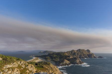 Cies Islands (Pontevedra, Spain).