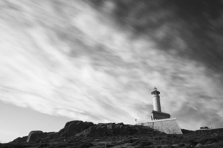 Lighthouse of Punta Nariga (Malpica, La Coruna - Spain).